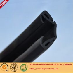 Auto glass guide groove rubber sealing strip